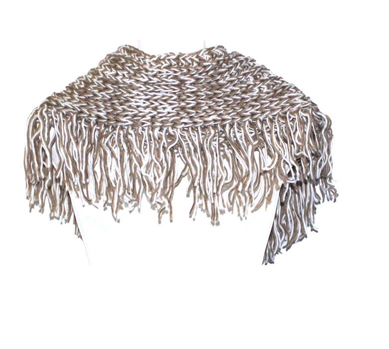 CABLE KNIT BUTTON COLLAR COWL SCARF - Perfume Oils   Handbags ...